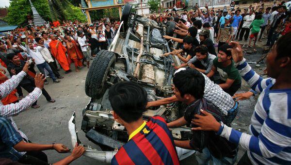 Беспорядки в Камбодже