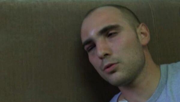 Избитый во время задержания на Матвеевском рынке полицейский