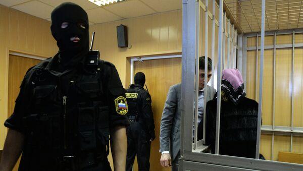 Рассмотрение суда по делу Халимат Расуловой и Магомеда Расулова. Архивное фото