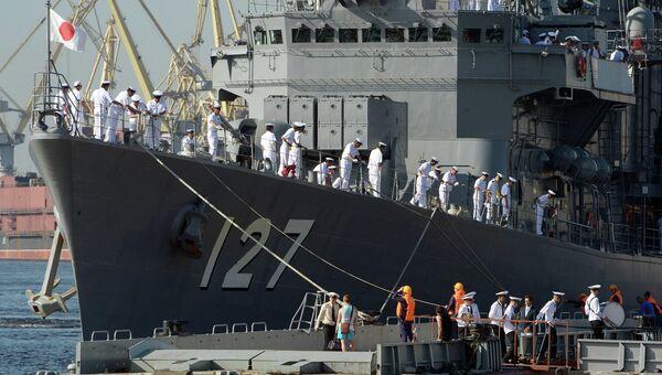 Миноносцы Морских сил самообороны Японии. Архивное фото