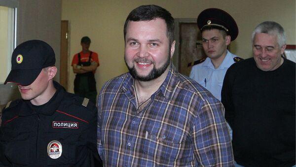 Заседание по делу экс-полицейского М.Каганского, обвиняемого в мошенничестве