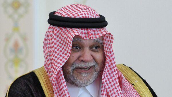 Принц Саудовской Аравии Бандар бен Султан. Архив