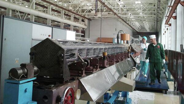 Процесс производства ядерного топлива для АЭС. Архивное фото