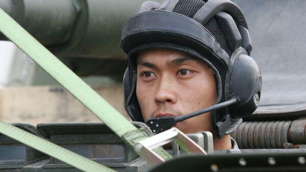 Китайский военный