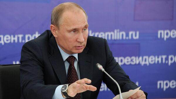В.Путин провел совещание по развитию транспортной инфраструктуры
