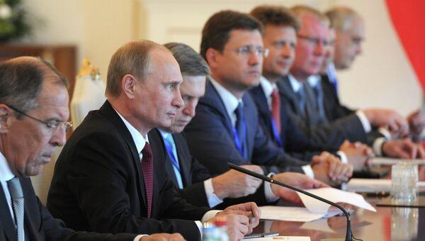 Рабочий визит В.Путина в Азербайджан