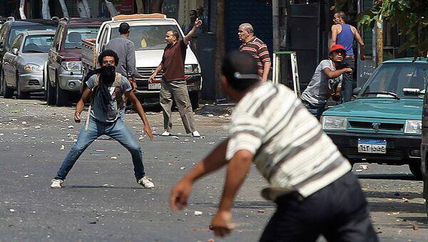 Столкновения сторонников и противников Мурси в Каире