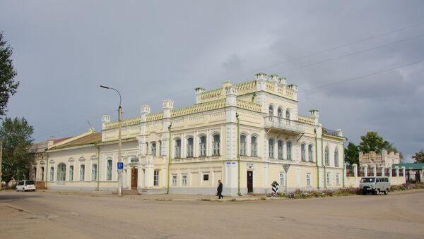 Бутинский дворец в городе Нерчинск