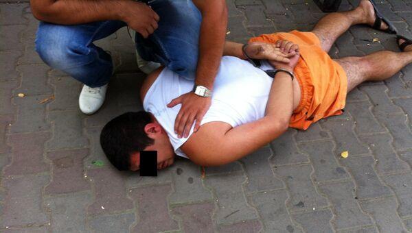 Задержание полицейского, подозреваемого в изнасиловании в Ростове