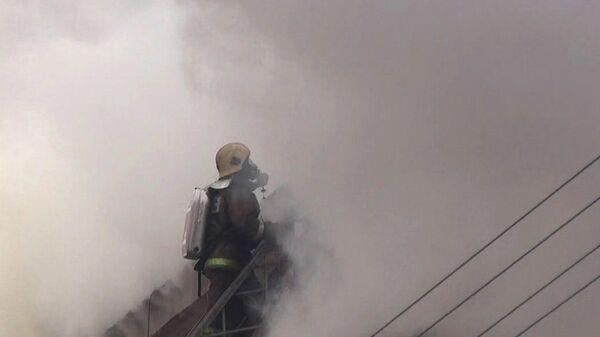 Работа пожарного