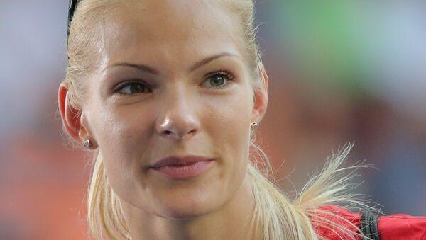 Легкоатлетка Дарья Клишина. Архивное фото