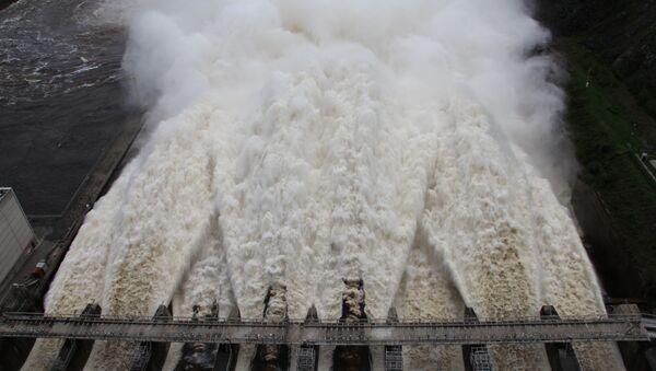 На Зейской ГЭС