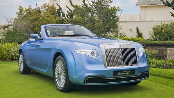 Автомобиль Rolls-Royce Hyperion Pininfarina. Архивное фото