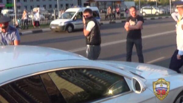 Стрельба на улице Земляной вал в Москве