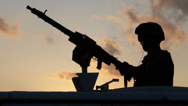 Миротворец ООН в районе, где Ливаном была запущена ракета по Израилю