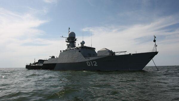 Корабль Каспийской флотилии. Архивное фото