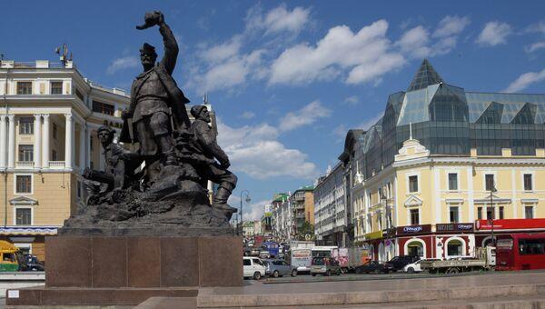Центр Владивостока