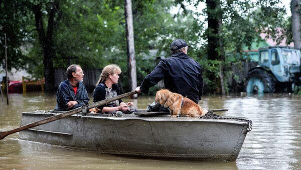 Паводковая ситуация в Хабаровском крае