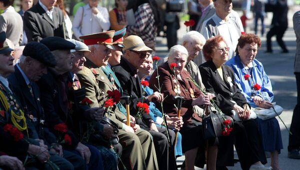 70-летие битвы на Курской дуге в Томске, архивное фото