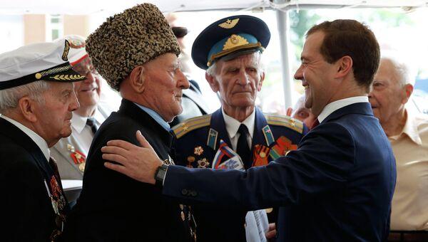 Рабочая поездка Д.Медведева в Курскую область