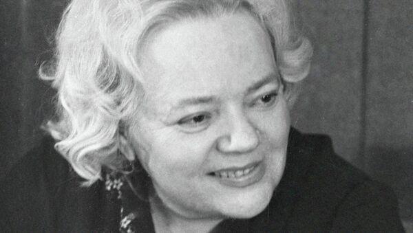 Академик АН СССР Татьяна Ивановна Заславская. Архив