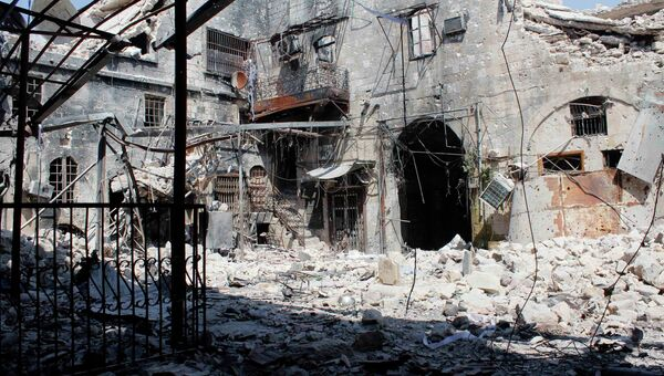 РСитуация в сирийском городе Алеппо, архивное фото