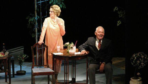 Сцена из спектакля Король, дама, валет