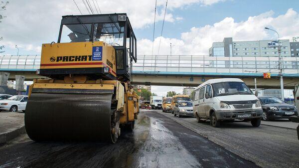 Ремонт дорог в Волгограде. Архивное фото