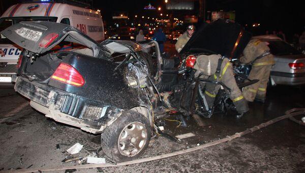 Четыре человека погибли в ДТП в Новосибирске