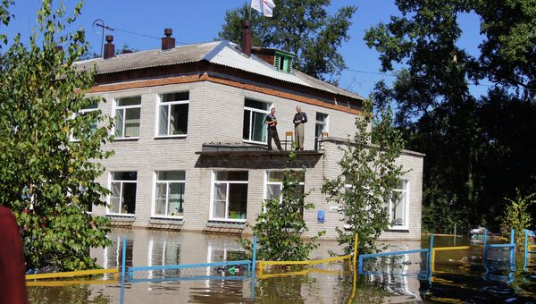 Паводок в Хабаровском крае. Архивное фото