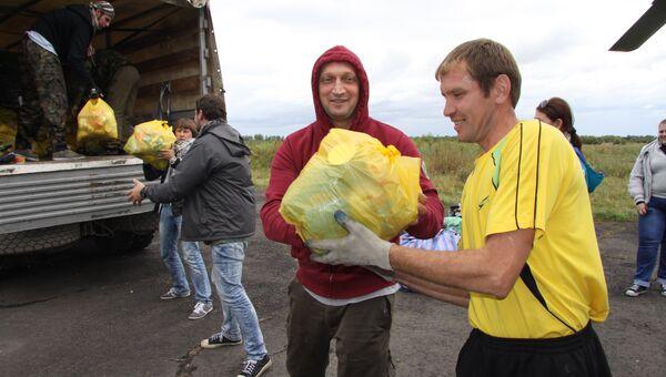 Гоша Куценко помогает пострадавшим от паводка