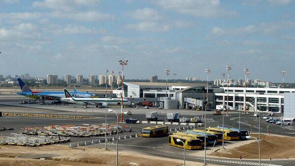 Аэропорт имени Давида Бен-Гуриона в Тель-Авиве. Архивное фото