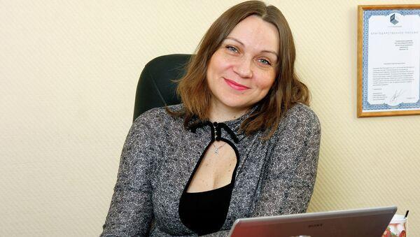 Директор новосибирского международного форума Интерра Лада Юрченко