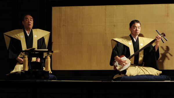 Спектакль театра Бунраку (Япония) Самоубийство влюбленных в Сонэдзаки