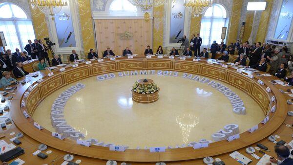 Участники саммита Группы двадцати