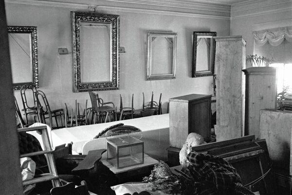 Разрушенная столовая в музее-усадьбе Л.Н.Толстого