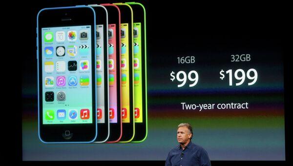 Презентация cмартфона iPhone 5C