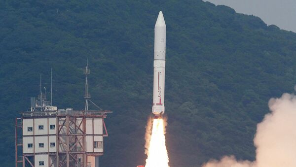 Старт японской ракеты Эпсилон