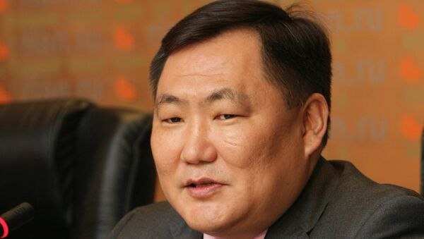 Глава Республики Тыва Шолбан Кара-Оол. Архивное фото