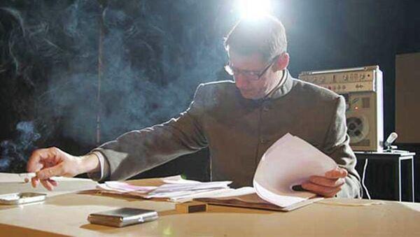 Сцена из спектакля Брат Эйхман