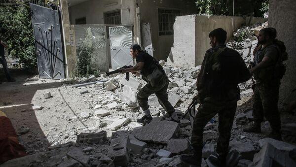 Бои в провинции Дамаск. Архивное фото