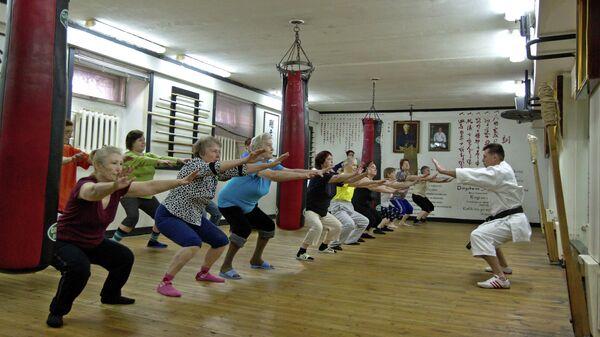 Занятия рукопашным боем для пенсионеров в Томске