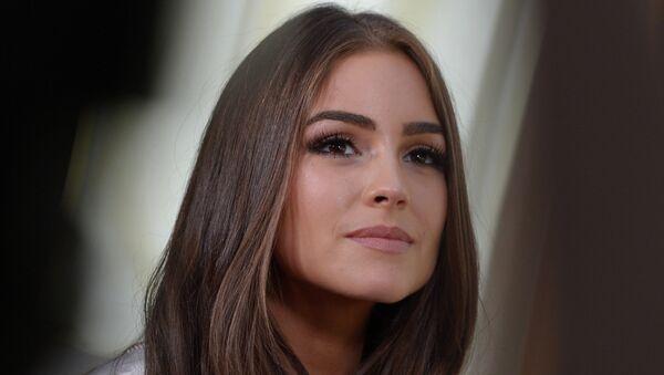 Визит Мисс Вселенной 2012 Оливии Калпо в Москву