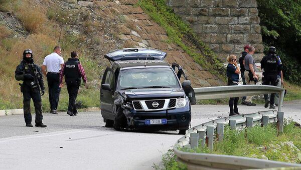 На месте убийства сотрудника ЕС в Косово