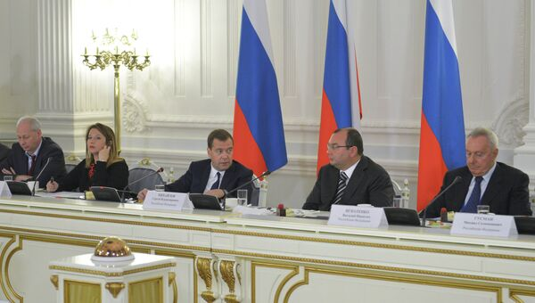 Встреча Д. Медведева с участниками Генассамблеи ОАНА
