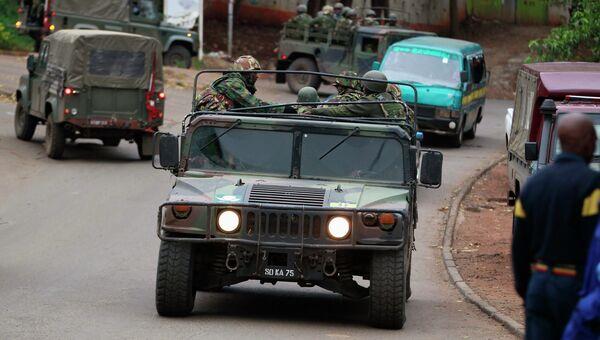Полиция в Найроби. Архивное фото