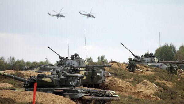 Учения вооруженных сил России и Белоруссии. Архивное фото