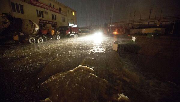 Последствия ливней в Сочи. Архивное фото