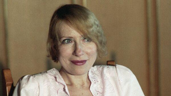 Актриса театра и кино Инна Чурикова, архивное фото