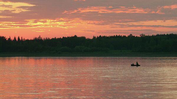 Река Ангара в Красноярском крае. Архивное фото